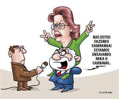 Lula fazendo campanha para Dilma